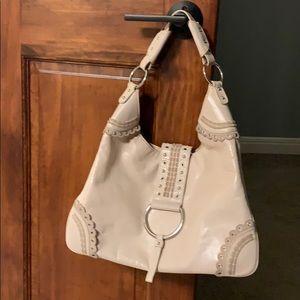 BCBGirls Cream Colored Shoulder Bag